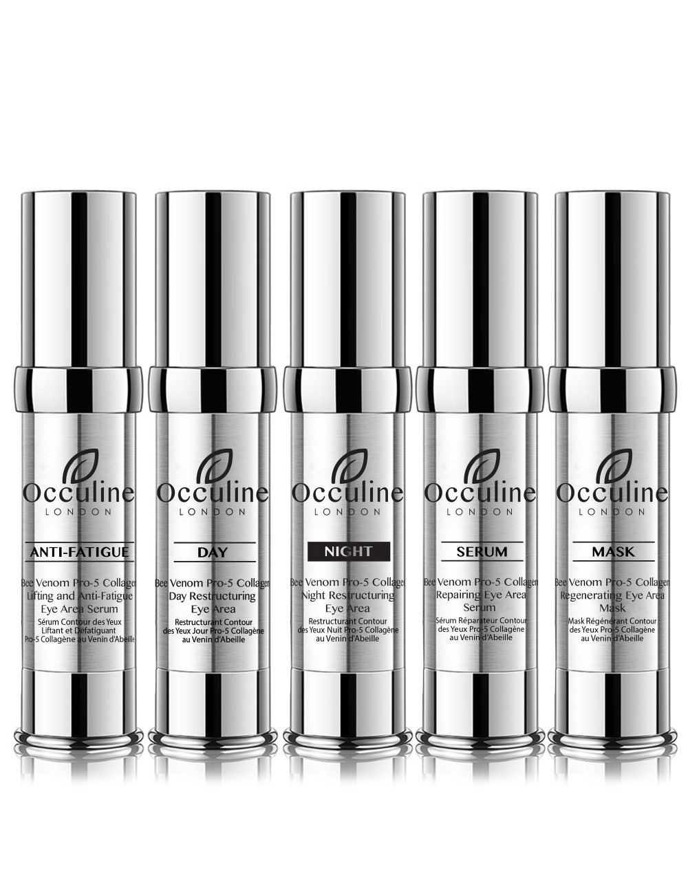 Occuline Serum & Night & Day & Anti-fatigue & Mask Kit